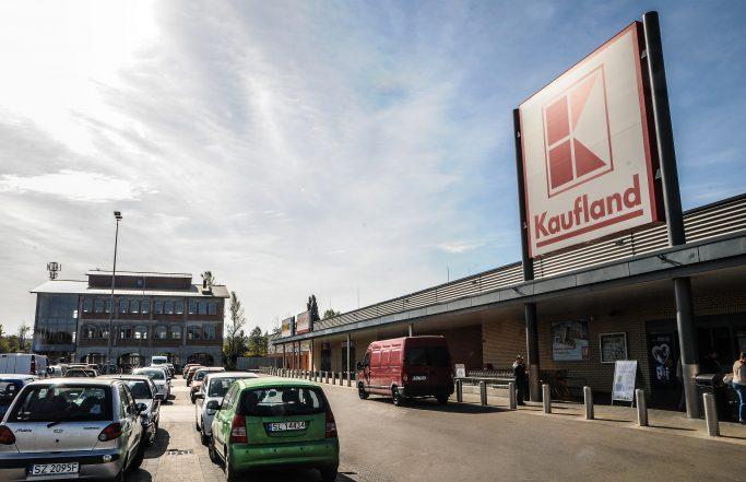 Pawilon handlowy wRudzie Śląskiej