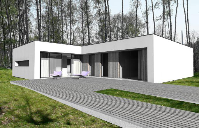 Osiedle Srebrne Stawy – dom parterowy